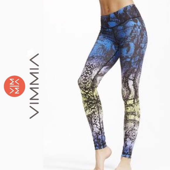 0ca43e3430c12e Vimmia Pants | Core Leggings Mamba Print Gym Tights | Poshmark
